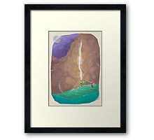 CT : Make your own way (15 left) Framed Print