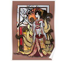 Kitsune of Sunset Poster