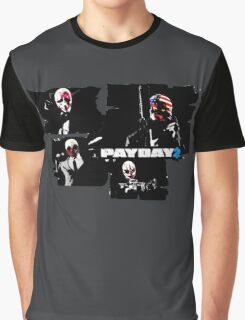Payday 2 Graphic T-Shirt