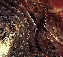 Snake coils Fractal by ButtercupSaiyan