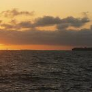 Sun, Sea and Ship by MichaelCouacaud