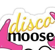 Disco Moose Sticker