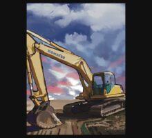 2004 Komatsu PC200LC-7 Track Excavator T-Shirt