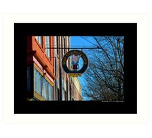 Star Confectionery Restaurant Street Sign - Riverhead, New York  Art Print