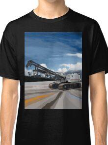 2004 Link Belt 138H5 Lattice Boom Crawler Crane Classic T-Shirt