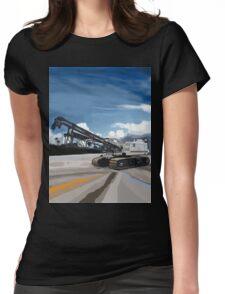 2004 Link Belt 138H5 Lattice Boom Crawler Crane Womens Fitted T-Shirt
