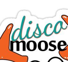 Disco Moose 3 Sticker