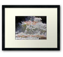 Banner Challenge Winner - Water Falls Framed Print