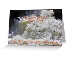 Banner Challenge Winner - Water Falls Greeting Card
