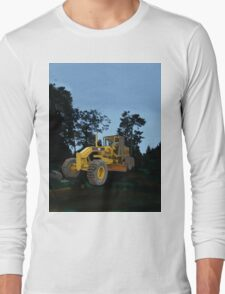 Caterpillar 12H VHP Plus Motor Grader Long Sleeve T-Shirt