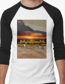 2008 Gomaco GHP-2800 Slip Form Paver Men's Baseball ¾ T-Shirt