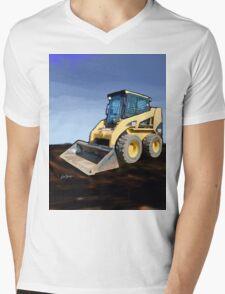 Caterpillar 236B Skid-Steer Loader Mens V-Neck T-Shirt