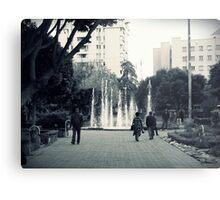In the park. Metal Print