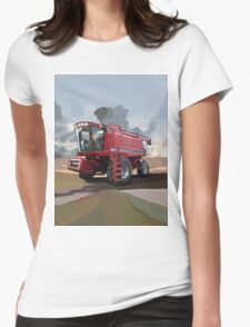 Case IH 2188 Combine Womens Fitted T-Shirt
