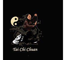 tai chi chuan and yin yang Photographic Print