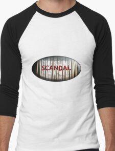 Scandal Shredder Men's Baseball ¾ T-Shirt