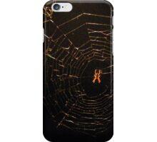 Spiderweb gold iPhone Case/Skin