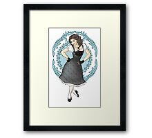 Princess Dancing Framed Print