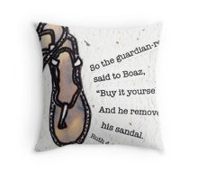 The Guardian-Redeemer Throw Pillow