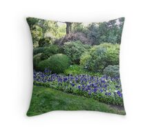 Winery Garden 6 Throw Pillow