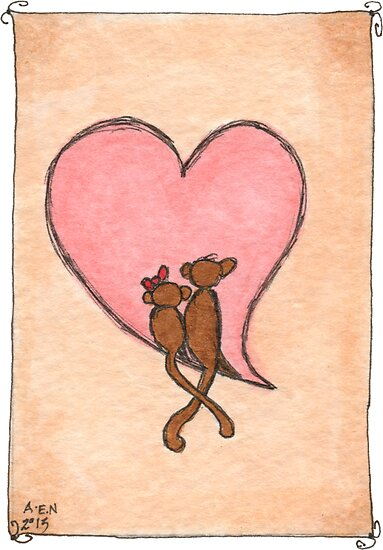 Monkey Love by Amy-Elyse Neer