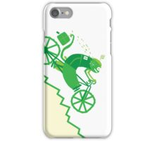 Crazy Chameleon Courier iPhone Case/Skin