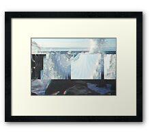 Fraction 04 Framed Print