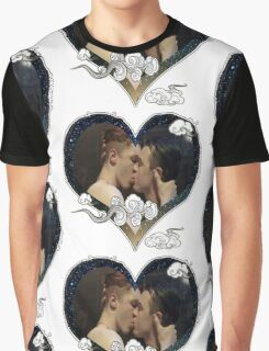 Hearted Gallavich Graphic T-Shirt