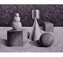 geometric grouping Photographic Print