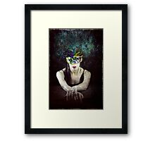 Her Bright Plumage Framed Print