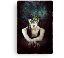 Her Bright Plumage Canvas Print
