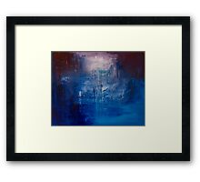 The Between Framed Print