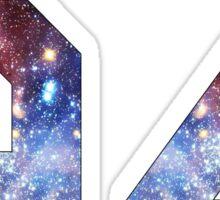 BIEBER 94 Galaxy, nebula #2 Sticker