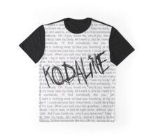 kodaline all i want Graphic T-Shirt