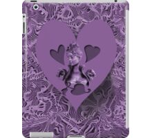 PURPLE HEART EXPRESSIONS IPAD CASE iPad Case/Skin