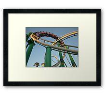 Desert Storm Loop (Roller Coaster) Framed Print