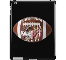 SUPER BOWL IPAD CASE iPad Case/Skin