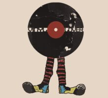 Funny Vinyl Records Lover - Grunge Vinyl Record by Denis Marsili - DDTK