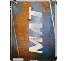 MAT iPad Case/Skin