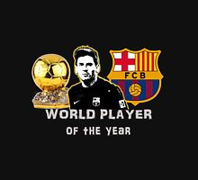 Leo Messi, Fifa World Player of the year, Ballon d'Or in Barcelona FC T-Shirt