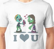 I Heart U : Zombies Unisex T-Shirt