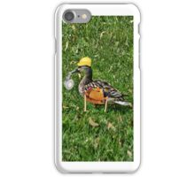 I CAN FIX ANYTHING..WHERE'S THE DUCK TAPE (DUCK IPHONE CASE) iPhone Case/Skin