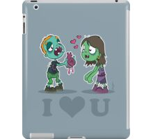 I Heart U : Zombies iPad iPad Case/Skin
