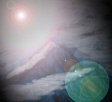 meteor mountain by mindgoop
