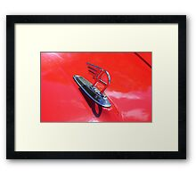 Bonnet Surfer Framed Print