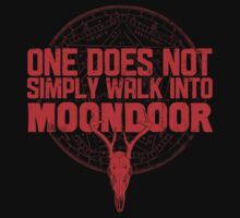 One Does Not Simply Walk Into Moondoor by Manny Peters