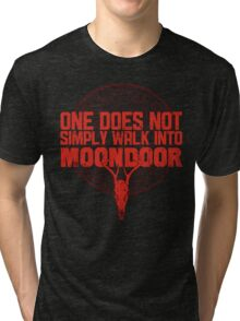 One Does Not Simply Walk Into Moondoor Tri-blend T-Shirt