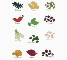 Spice Labels 2 by Joumana Medlej