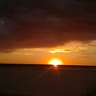 Holdfast Bay Sunset, Glenelg, South Australia by Irene Whennan
