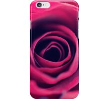 Red Swirls  iPhone Case/Skin